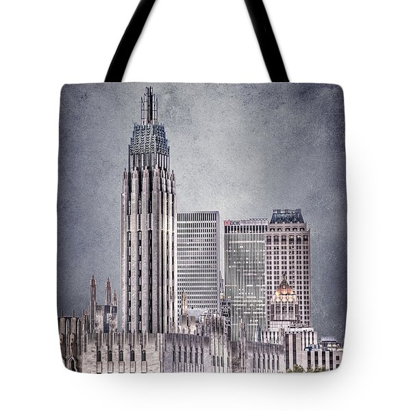 Tulsa Art Deco II Tote Bag by Tamyra Ayles