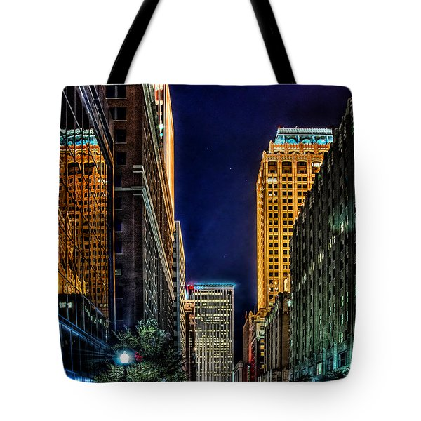 Tulsa Nightlife Tote Bag by Tamyra Ayles