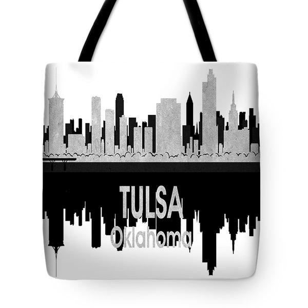 Tulsa Ok 4 Vertical Tote Bag