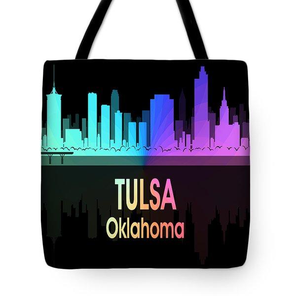 Tulsa Ok 5 Vertical Tote Bag