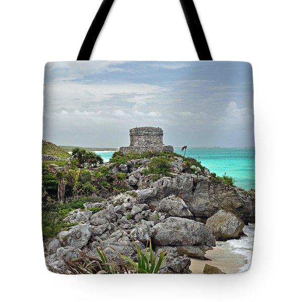 Tulum Mexico Tote Bag