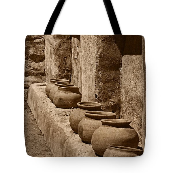 Tumaca'cori Antique Pots Tnt Tote Bag