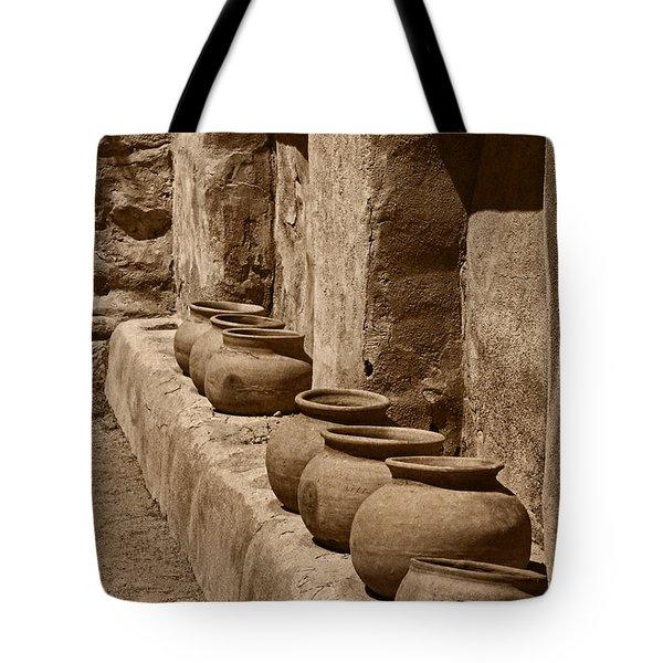 Tumaca'cori Antique Pots Tnt Tote Bag