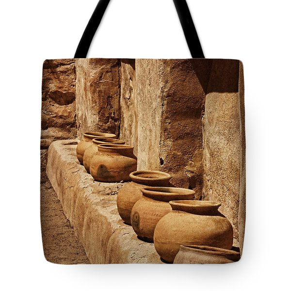 Tumaca'cori Antique Pots Txt Tote Bag