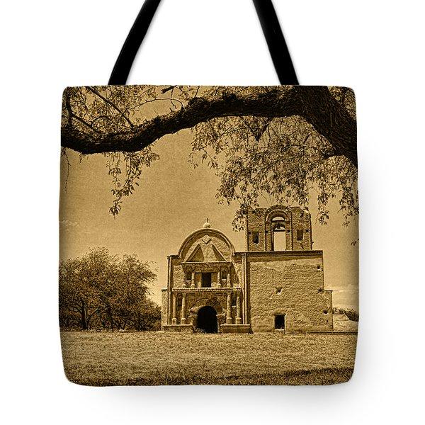 Tumacacori Mission Tint Tote Bag