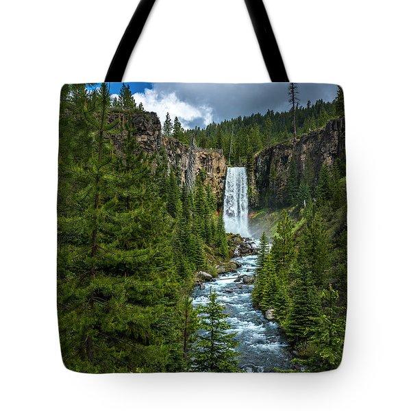 Tumalo Falls Tote Bag