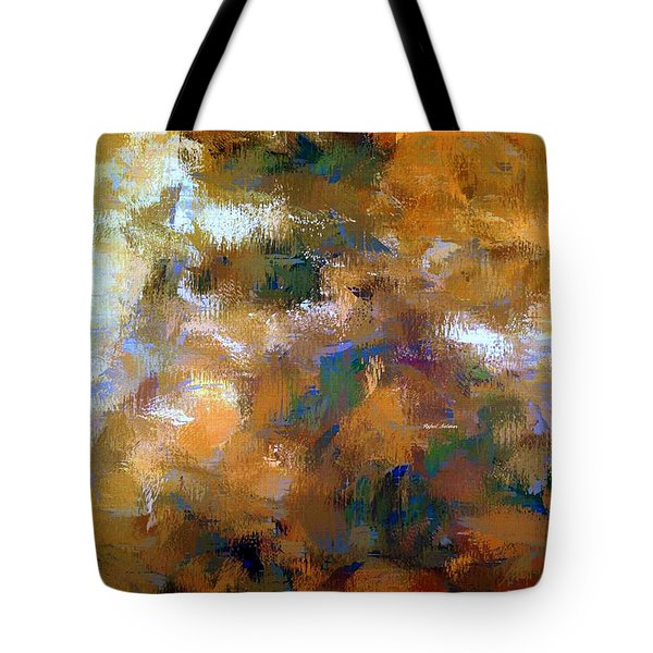 Tote Bag featuring the digital art Tumultuous Expectations by Rafael Salazar