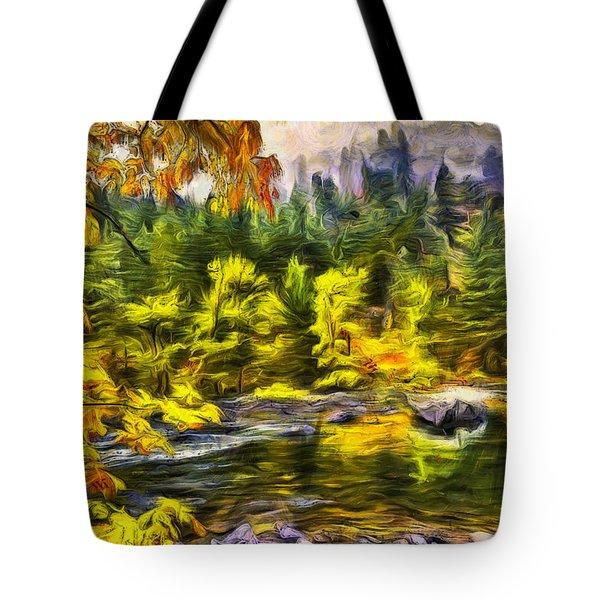 Tumwater Autumn Tote Bag