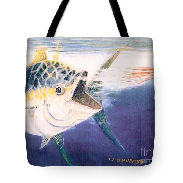Tuna To The Lure Tote Bag