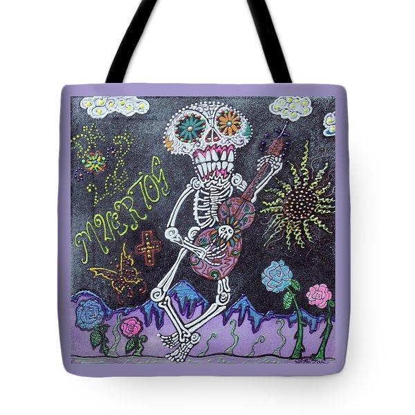 Tune Of Los Muertos Tote Bag