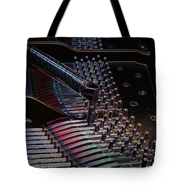 Tuning A Steinway For Jazz Tote Bag