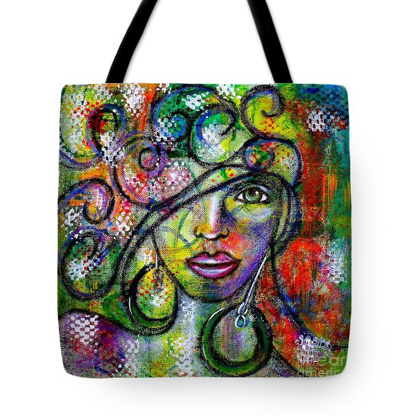 Tuning In Tote Bag