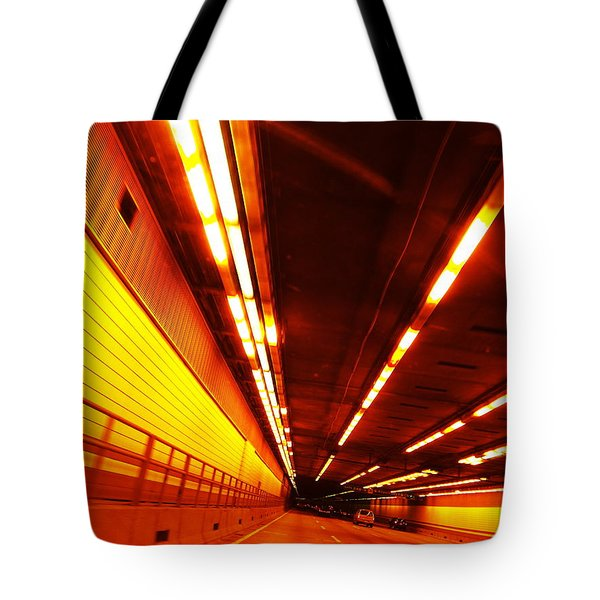 Tunnel Drive Tote Bag