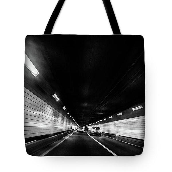 Tunnel Tote Bag by Hyuntae Kim