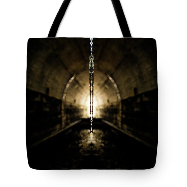Tunnel Icicle Tote Bag