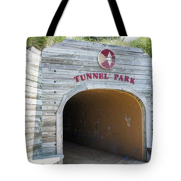 Tunnel Park, Holland Mi Tote Bag