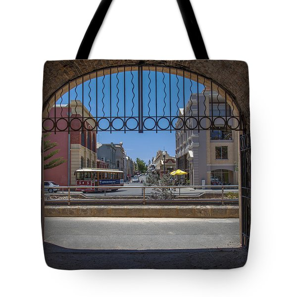 Tunnel To Fremantle Tote Bag