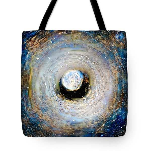 Tunnel To The Moon Tote Bag