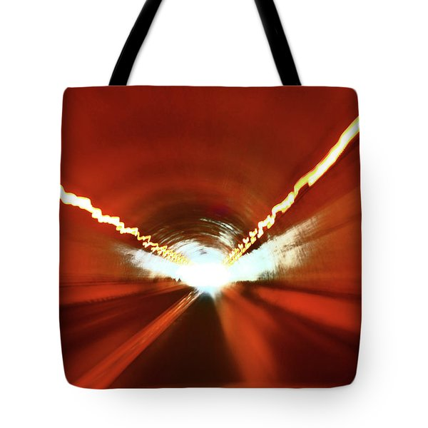Tunnel Vision Tote Bag by Gray  Artus