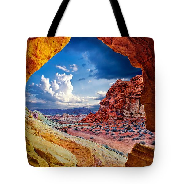 Tunnel Vision Tote Bag by Renee Sullivan