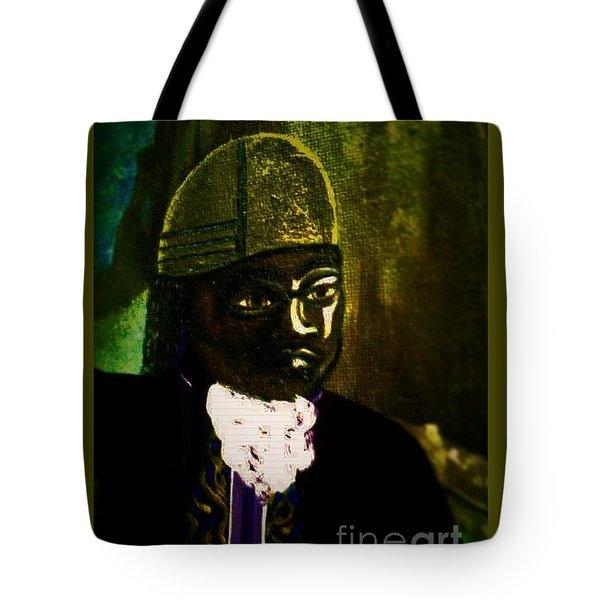 Tupac Amaru II Portrait Tote Bag