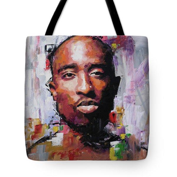 Tupac Tote Bag