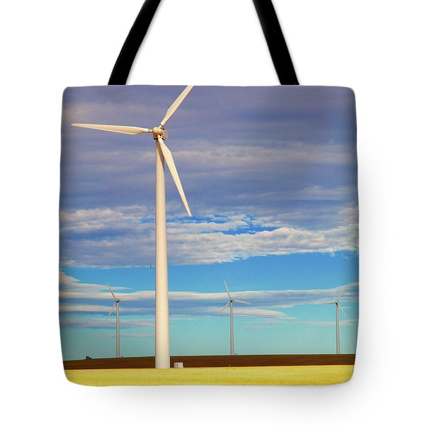 Turbine Formation Tote Bag