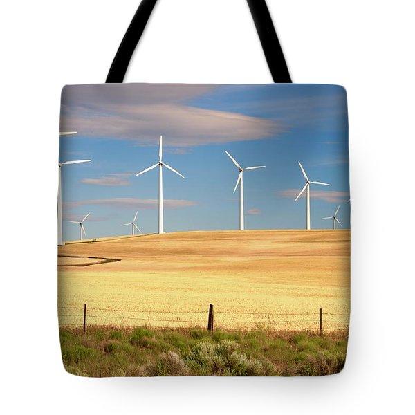 Turbine Line Tote Bag