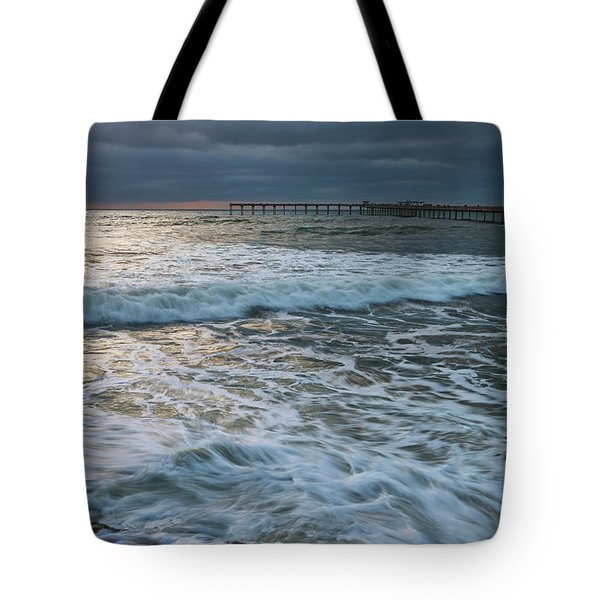 Tote Bag featuring the photograph Turbulence by Dan McGeorge