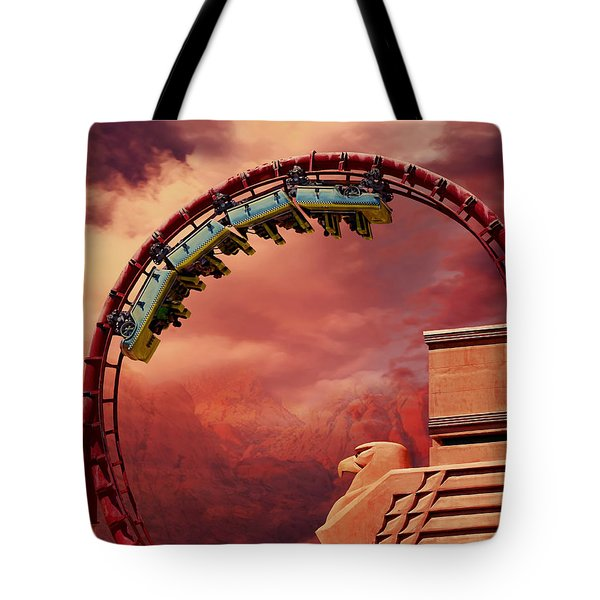 Turbulence Tote Bag by Iryna Goodall