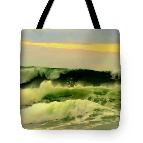 Turbulent Ocean Swell Tote Bag