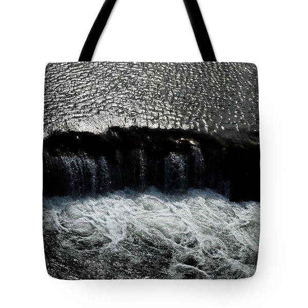 Turbulent Water Tote Bag