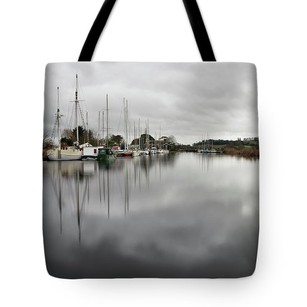 Turf Locks On Exeter Canal Tote Bag