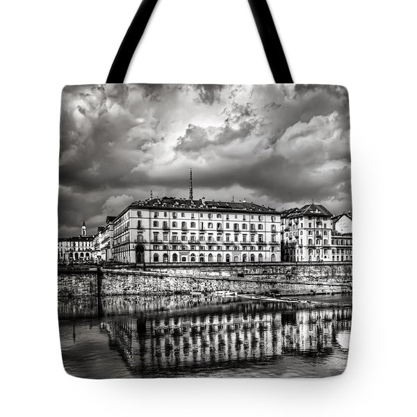 Turin Shrouded In Cloud Tote Bag