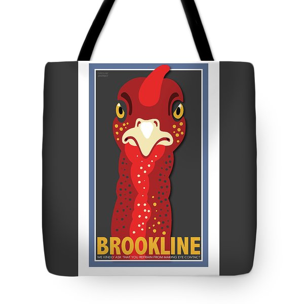 Turkey Stare Tote Bag