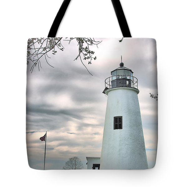Turkey Point Lighthouse Tote Bag