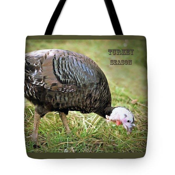Turkey Season Tote Bag by Marion Johnson