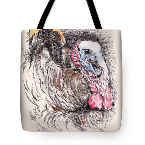 Turkey Tom Tote Bag