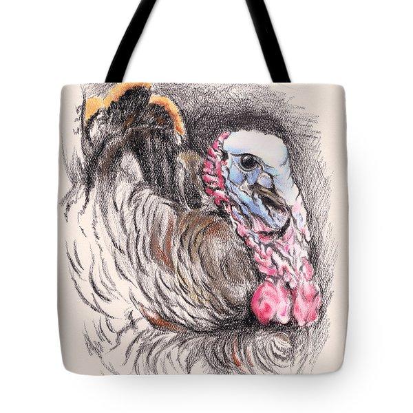 Turkey Tom Tote Bag