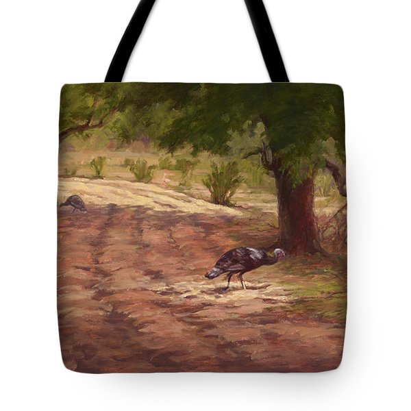 Turkey Tracks Tote Bag
