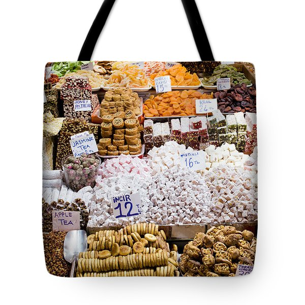 Turkish Delight In Istanbul Tote Bag
