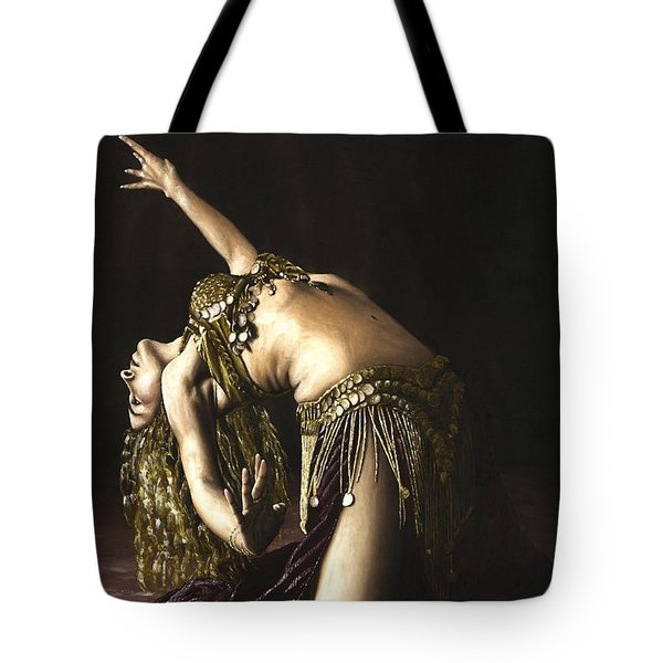 Turkish Delight Tote Bag by Richard Young