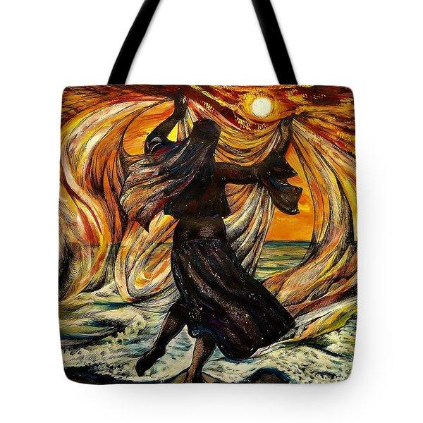 Turkish Sunset Tote Bag