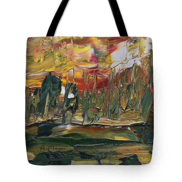 Turmoil Tote Bag