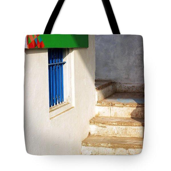 Turn Left Tote Bag by Prakash Ghai