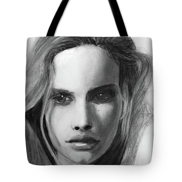 Tote Bag featuring the drawing Turn Of A Friendly Card by Jarko Aka Lui Grande