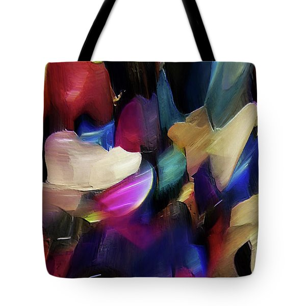 Tote Bag featuring the digital art Turn Off The World And Tarry by Margie Chapman