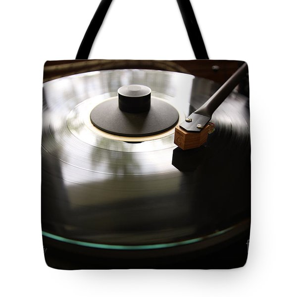Turn Table Tote Bag