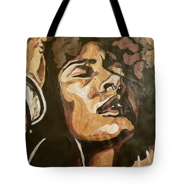 Turn Up The Quiet Tote Bag