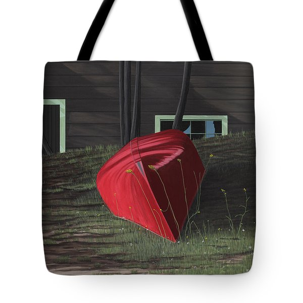 Turned Down Day Tote Bag